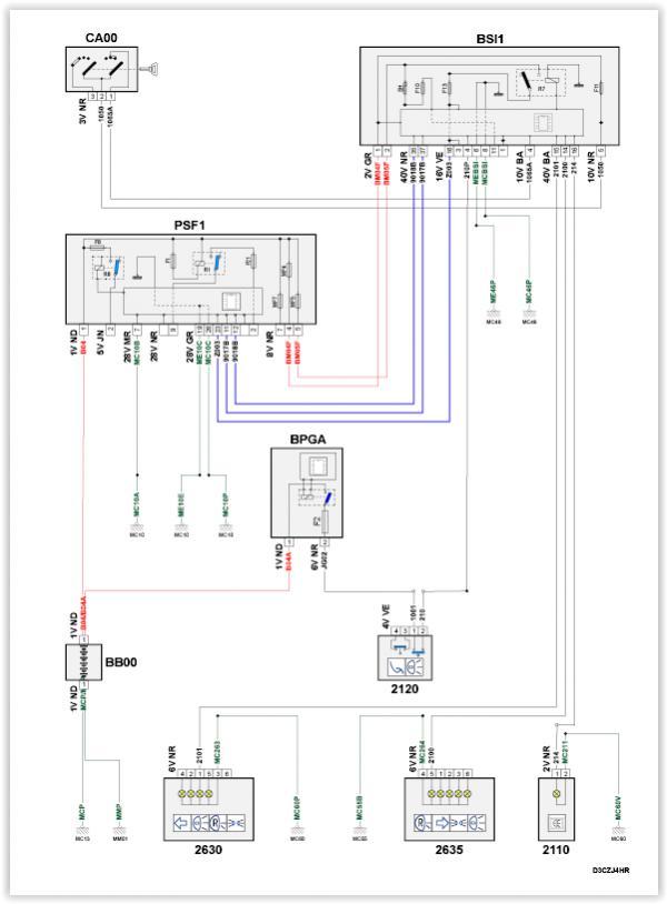 [18+] Elektrisch Schema Peugeot Partner