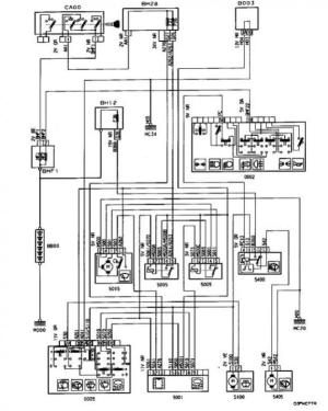 1999 306 Rain sensor Wiper wiring diagram needed!!  Peugeot Forums