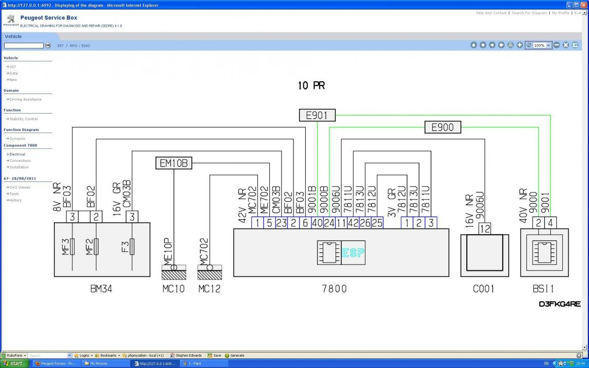 hight resolution of esp ecu communication fault peugeot forums peugeot 307 abs wiring diagram