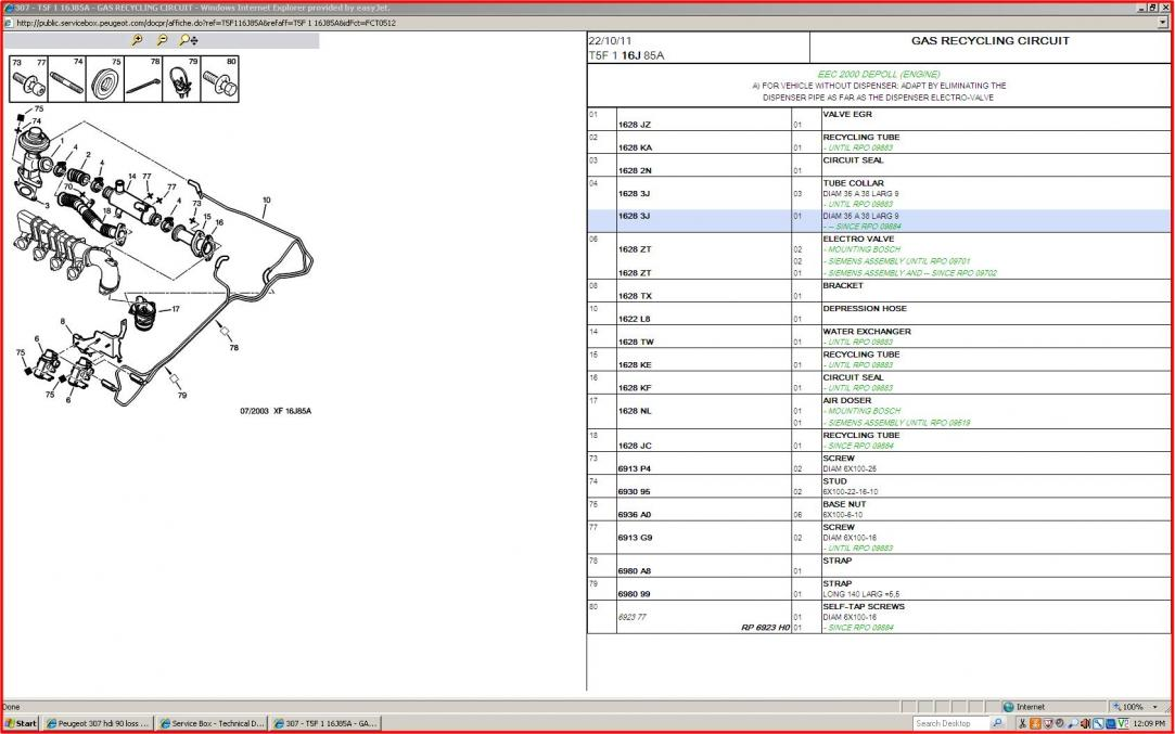 PEUGEOT 307 1 4 HDI WIRING DIAGRAM - Auto Electrical Wiring