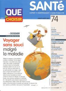 Que Choisir SantéJuillet Aout 2013