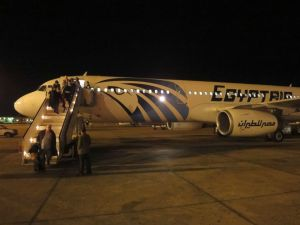 Un Airbus A320 d'Egypt Air - Image Flight Report