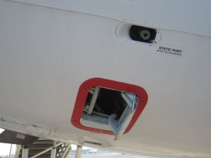 L'outflow Valve se trouve à l'arrière de l'avion sous sa queue, c'est par là que l'air sort de l'avion