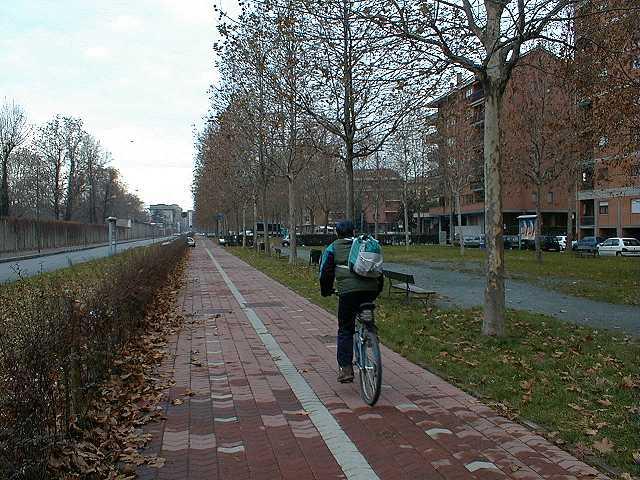 Torino by bike  Piste Ciclabili  Parco Pellerina  Stadio Comunale
