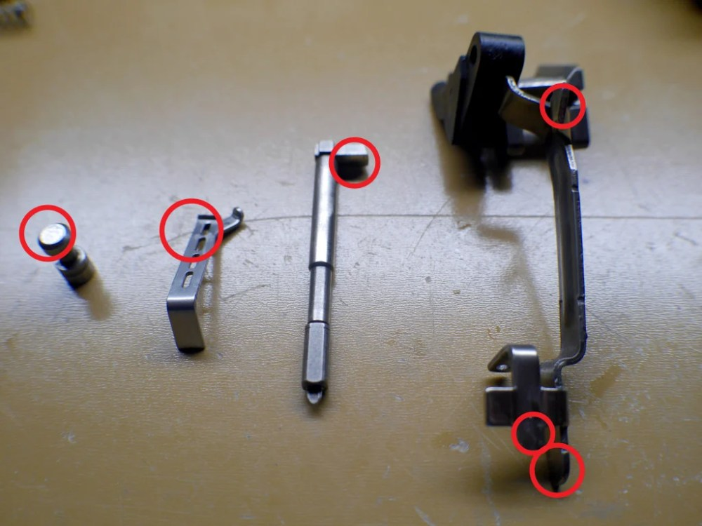 medium resolution of glock 25 cent trigger job polish parts diagram