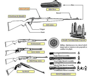 Types of Guns  Pew Pew Tactical