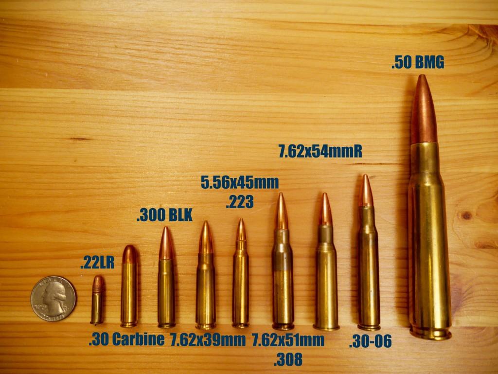 Comparison Rifle Ammo 30 30 30 06
