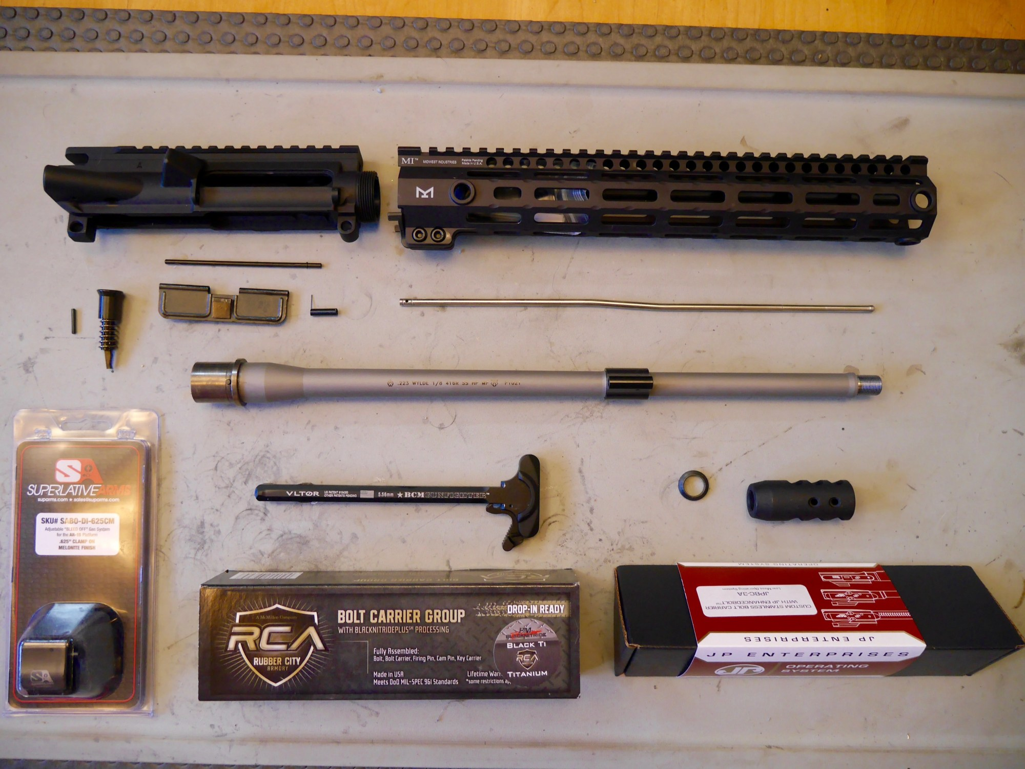 hight resolution of how to build an ar 15 upper receiver ultimate visual guide pew pew tactical