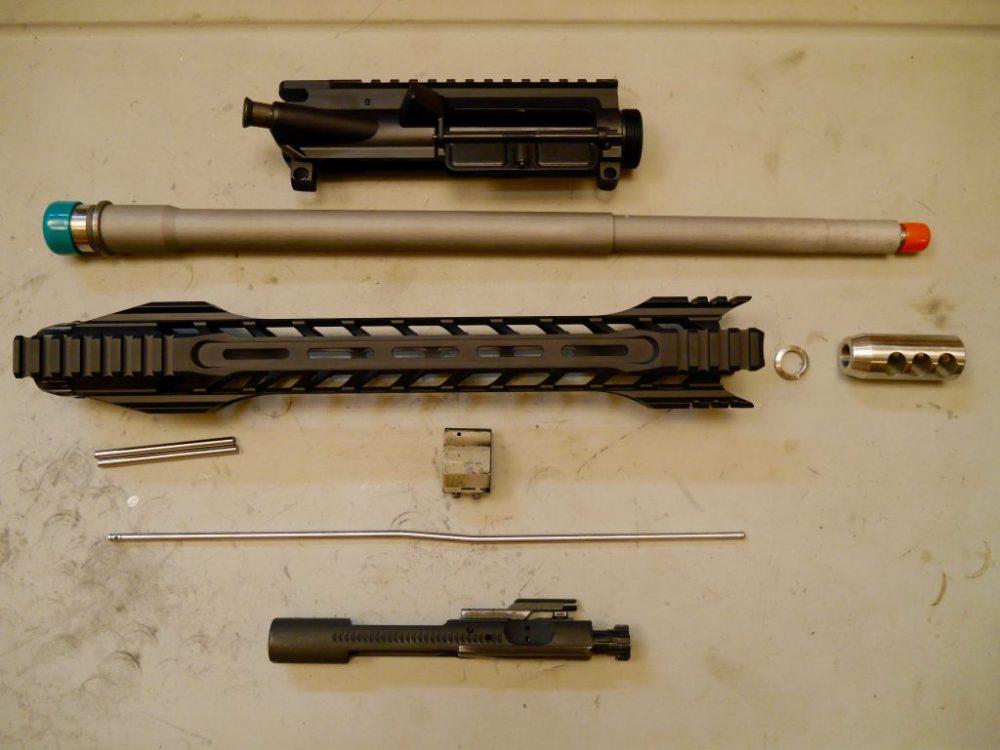 medium resolution of rainier arms upper build