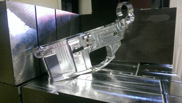 Billet Lower Receiver, Hunter Rifleworks