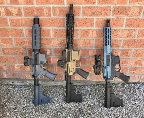 small resolution of three ar pistols