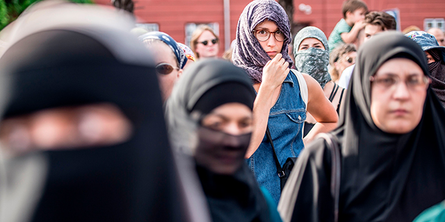 Sometimes the word hijab refers specifically to a woman's headscarf; Most Western Europeans Favor Restrictions On Muslim Women S Religious Clothing Pew Research Center