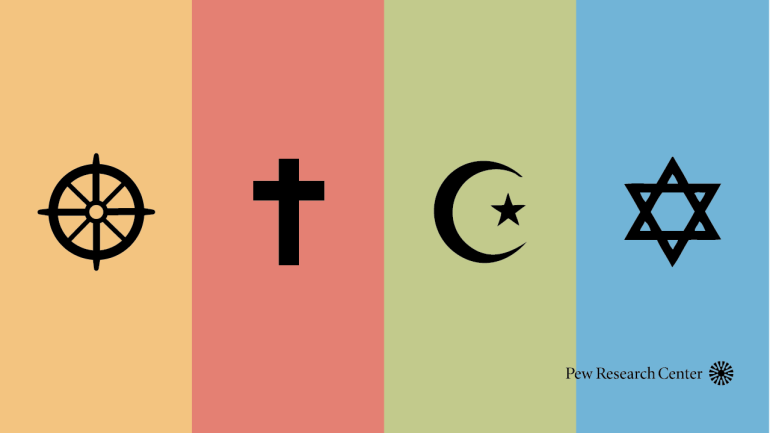Who comes to mind when Americans think about specific religions? | Pew Research Center