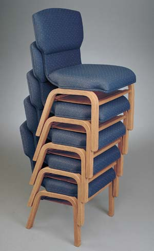 Wooden Church Chair