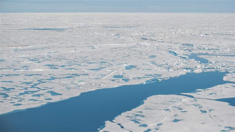 Fishing ban in International Arctic Ocean