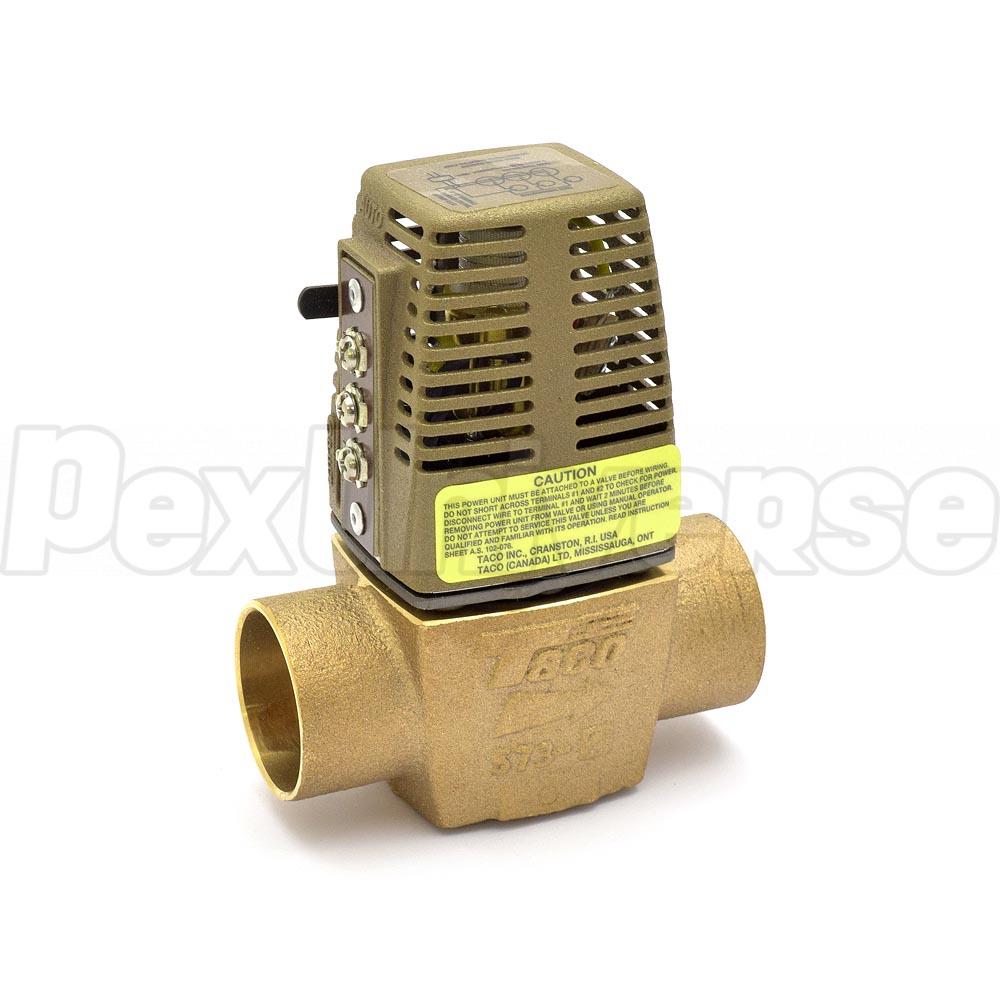 hight resolution of 1 1 4 sweat 573 zone valve brand taco