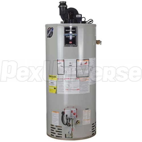 small resolution of 40 gal ttw defender power vent water heater ng 6 yr wrty brand bradford white part rg2pv40t6n