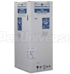 40 gal ttw defender power vent water heater ng 6 yr wrty brand bradford white part rg2pv40t6n [ 1000 x 1000 Pixel ]