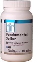 Fundamental Sulfur - MSM - aids tissue repair needed in Peyronie's treatment.