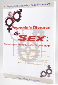 Peyronie's Disease & Sex is a book written by a doctor who talks to thousands of people each year about their intimate problems living with a curved penis.  An important part of any Peyronie's disease treatment program.