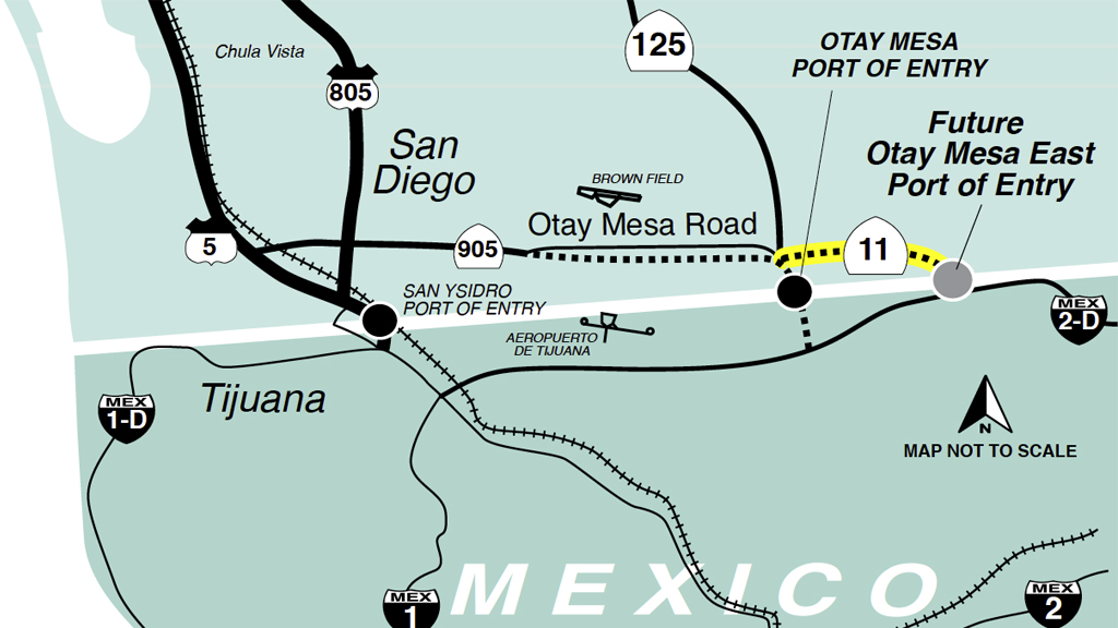 Peyser Associates  Otay Mesa CA East Border Crossing