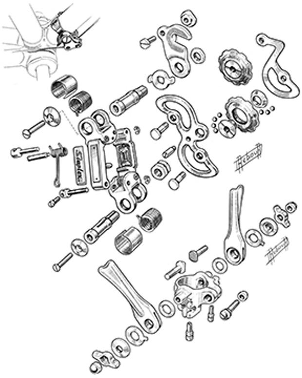 Pez Bookshelf: The Bicycle Illustrations of Daniel Rebour