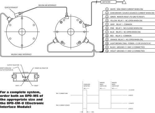 small resolution of customer interface wiring diagram