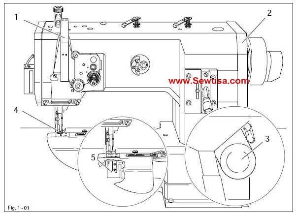 Pfaff Industrial Sewing Machine Instruction Manuals