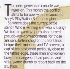 Gaming opinion column