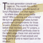 Gaming opinion column