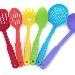 Kitchen Utensil Set Small Island Ideas With Seating Colorful Utensils Buy Online At Pfannenprofis De