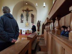 Firmlinge im Passionistenkloster