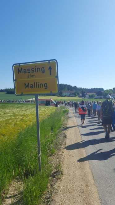 Fußwallfahrt nach Altötting 2019