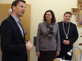 Besuch der Landtagspräsidentin Ilse Aigner in der Pfarrei