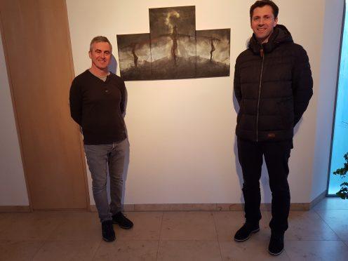 Triptichon Kreuzigung, Markus Pleyer