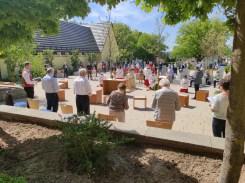 Fronleichnam 2021 - An der Pfarrkirche