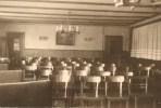 Blick in den Clubraum, wo die Missionsvorträge und das hl. Messopfer gehalten wurden.