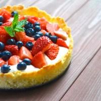 Von fremden Blogs: Sommerkuchen mit Frischkäsecreme