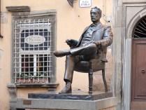 Lucca ist übrigens der Geburtsort Puccinis