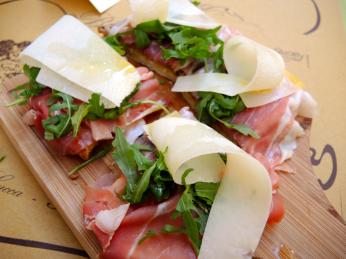 Bruschetta Mia im Restaurant