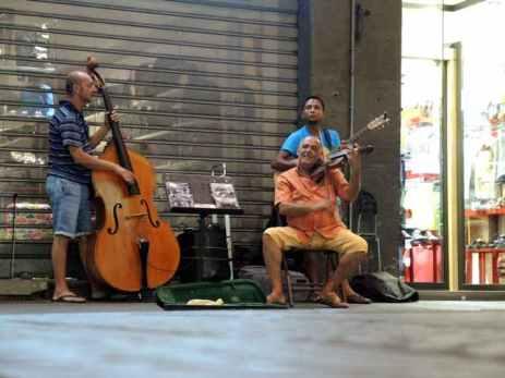 Florenz Straßenmusiker