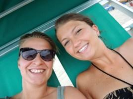 Corinna und ich die erste