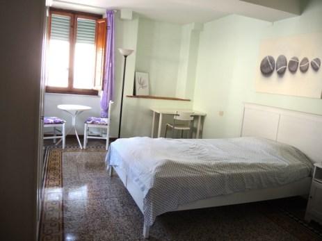 Mein gutes, altes Zimmer in Lucca (nach meinem Auszug endlich mal aufgeräumt)