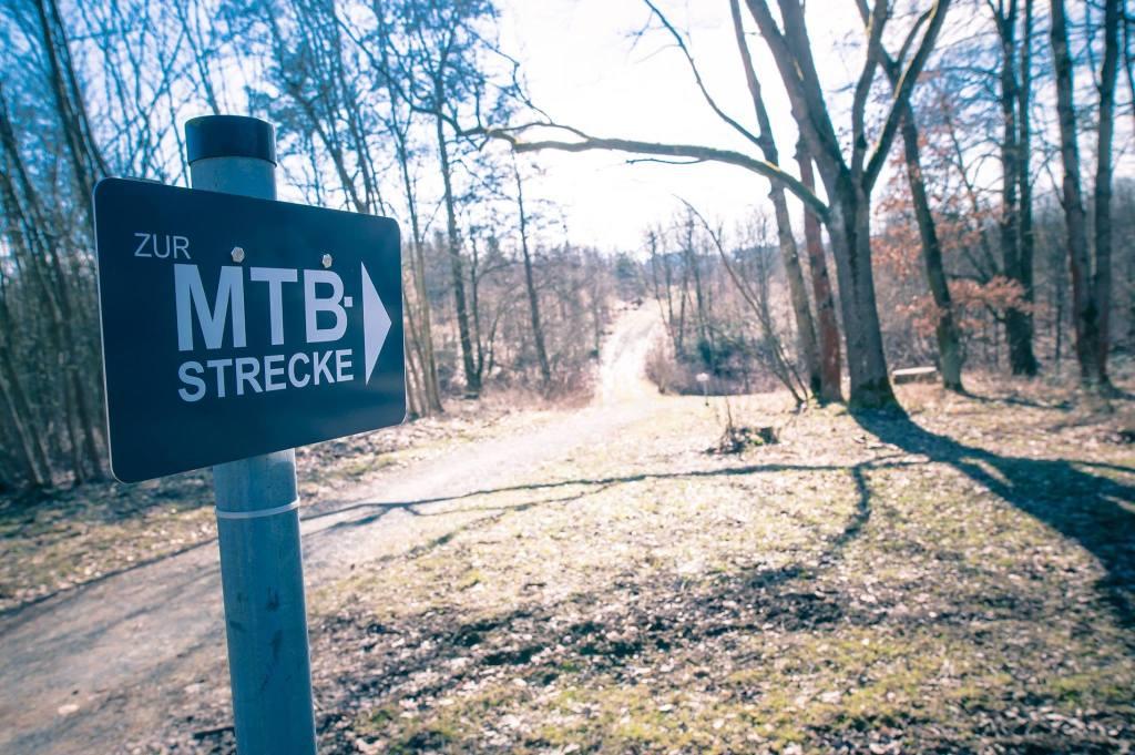 MTB-Strecke Hof