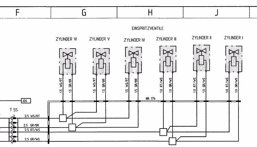 Stromlaufplan Porsche 911