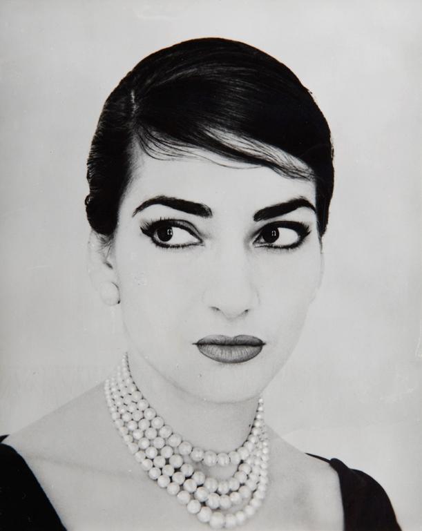 22_Ritratto fotografico di Maria Callas by Jerry Tiffany, New York 1958. Collezione Ilario Tamassia