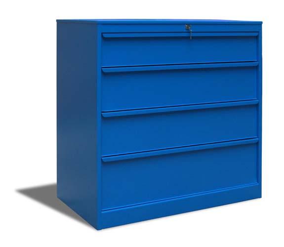 armoire basse metallique d atelier 4 tiroirs