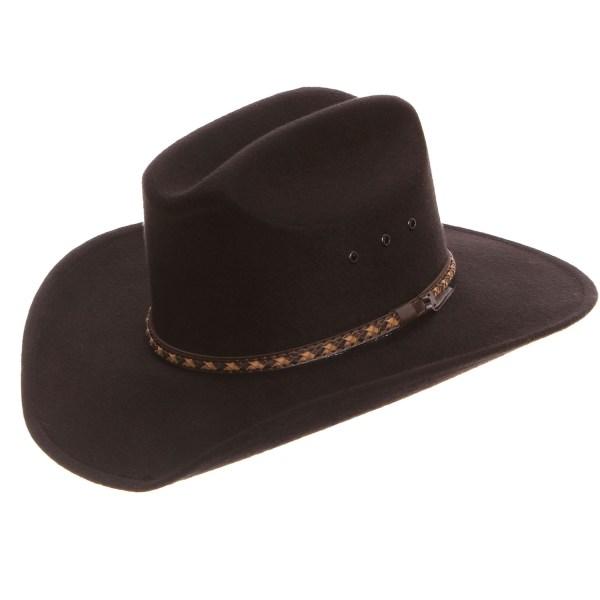 Kid' Black Felt Cowboy Hats - Kids