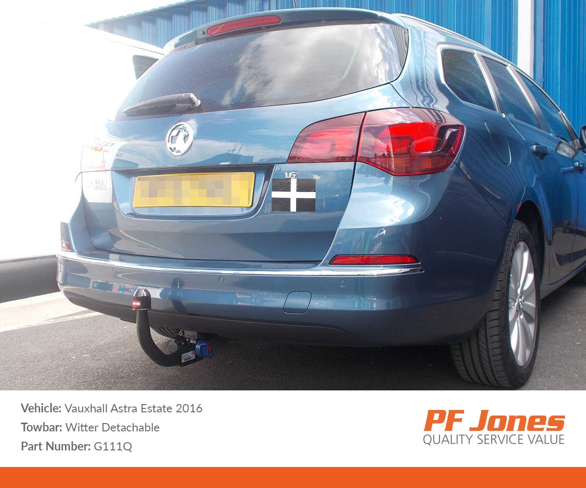 vauxhall astra j towbar wiring diagram 7 way blade sports tourer 2010 2015 witter detachable
