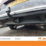 Towbar Westfalia Vertical Detachable Volkswagen Passat Estate B7 2010 2014 Vehicle Parts Accessories Trailers Towing